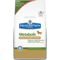 Prescription Diet Canine Metabolic Advanced Weight Solution és Mini száraztáp