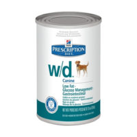 Prescription Diet Canine w/d és w/d mini konzerv