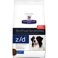 Prescription Diet Canine z/d és z/d mini száraztáp